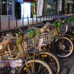 Transporte público a base de bicicleta elétrica