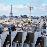 Vista dos telhados a partir do Pompidou