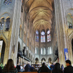 Teto da Catedral de Notre Dame