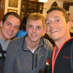 Pamplona - Dois brasileiros cercando um argentino