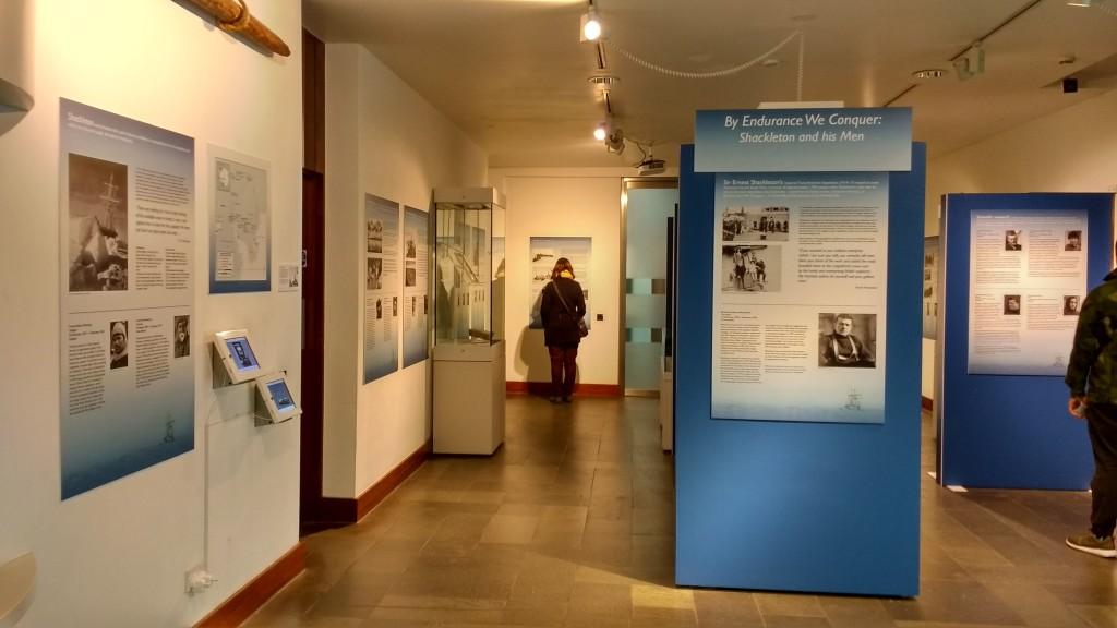 Museu Polar (em exposição as expedições de Shackleton e Scott) | Cambridge