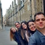 Da direita para a esquerda: Anderson, Mariana, Fernanda, Thiago e Flávia