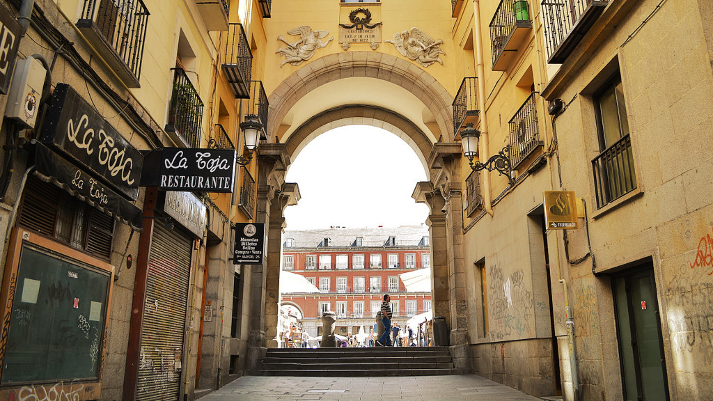 Entrada da Plaza Mayor | Madrid